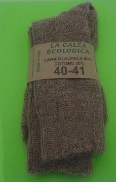 rivenditore online abbastanza economico marchio famoso Calze lana 100% naturali ecologiche